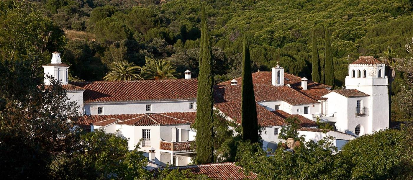 Exterior view of Trasierra in Andalucia in Spain