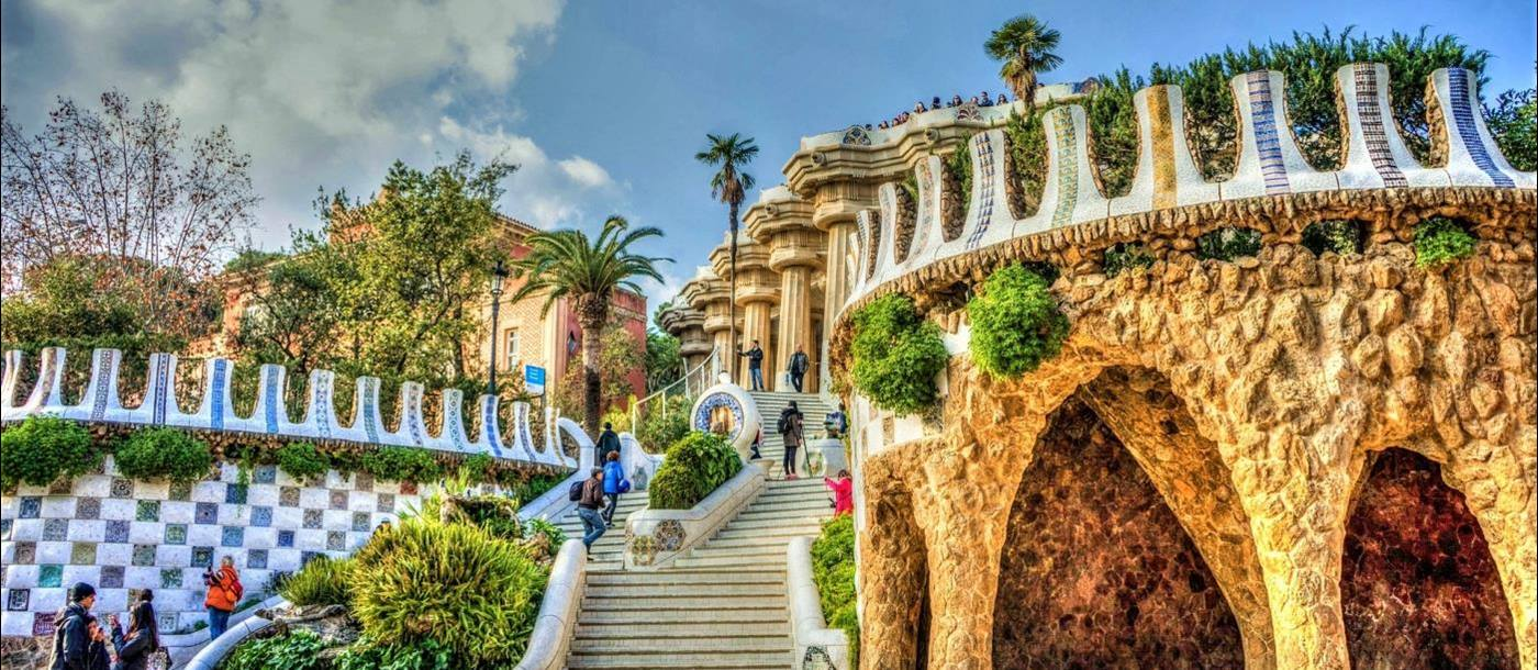 Gaudi Museum in Barcelona Spain