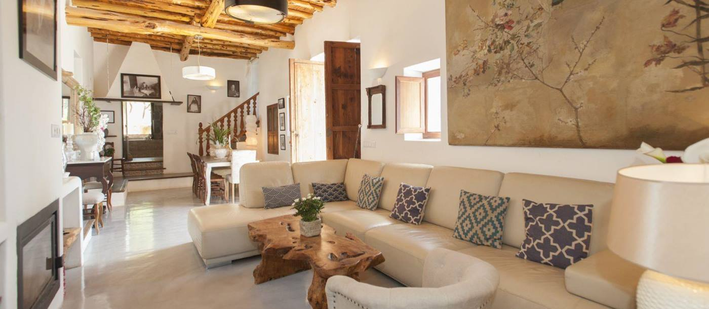 the living room at el torrent