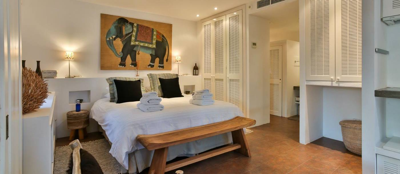 Double bedroom in Villa Colletta, Ibiza
