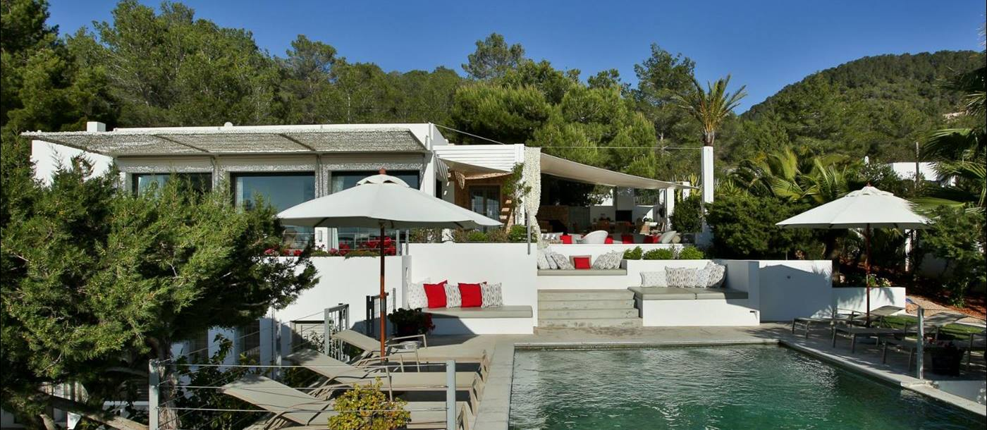 Swimming pool of Villa Colletta, Ibiza