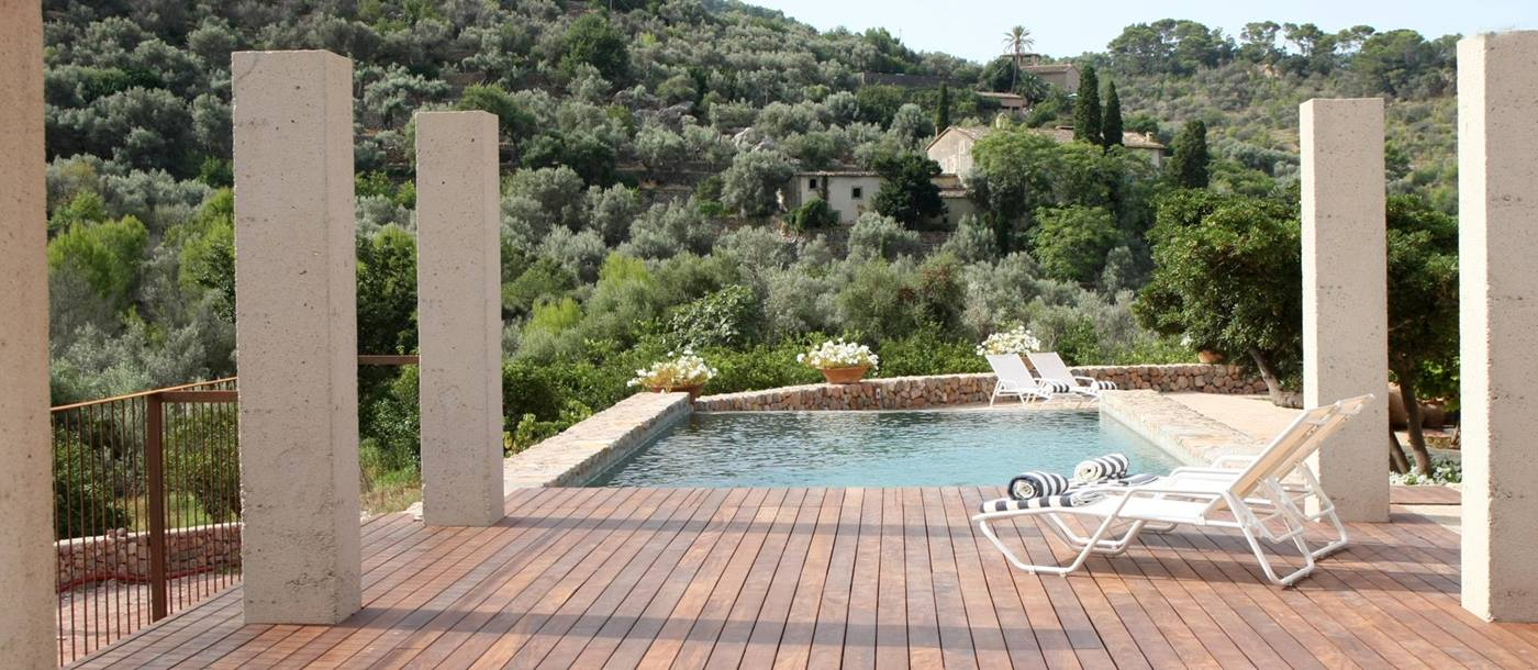 Swimming pool of La Finca, Mallorca
