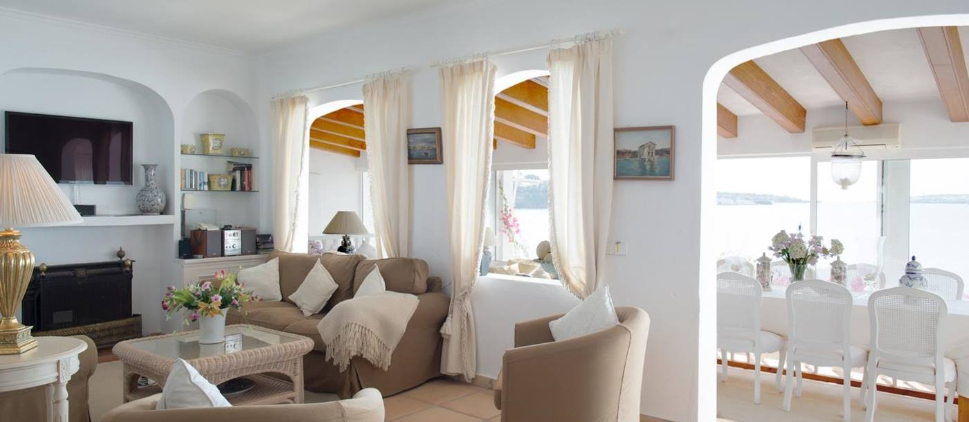 Living room in Sant Antoni, Menorca