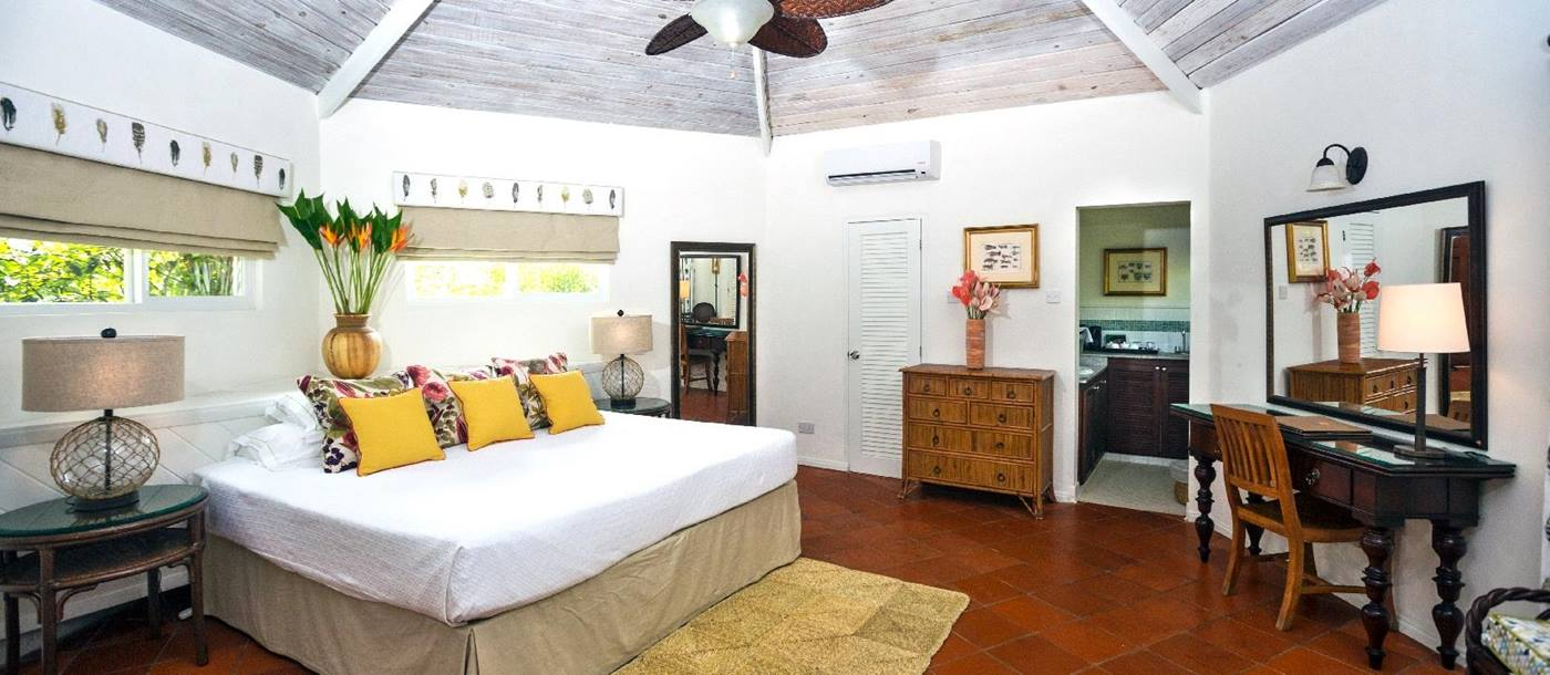 interior of a superior cottage of East Winds, St Lucia