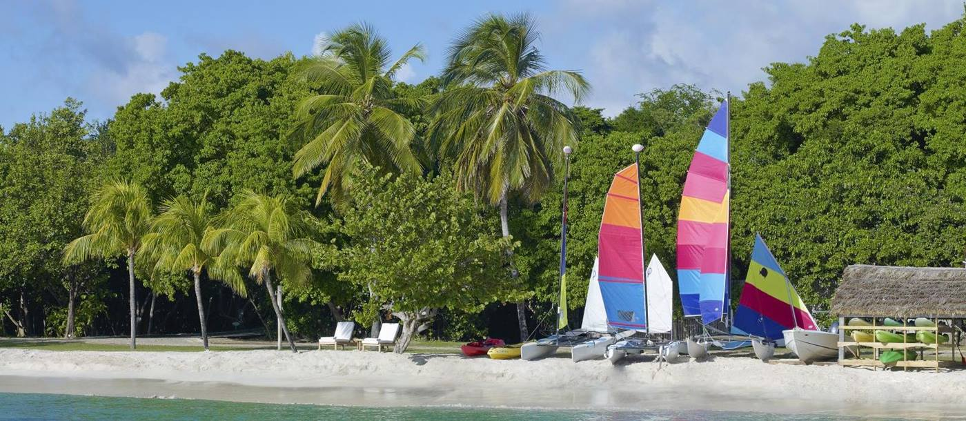 Watersports at Petit St Vincent