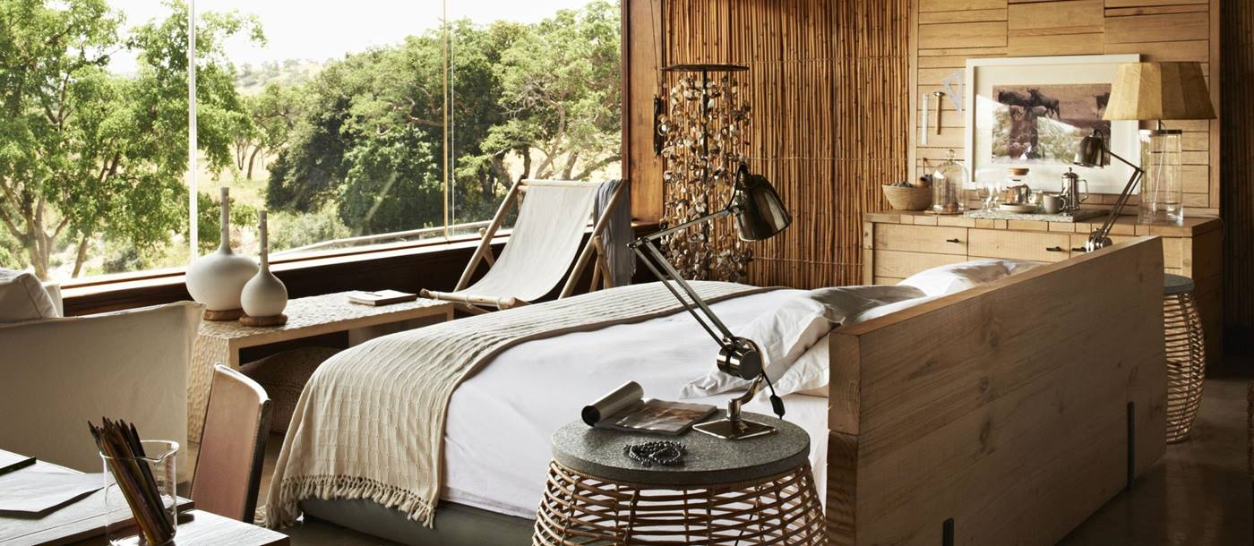 A room at  Singita Faru Faru