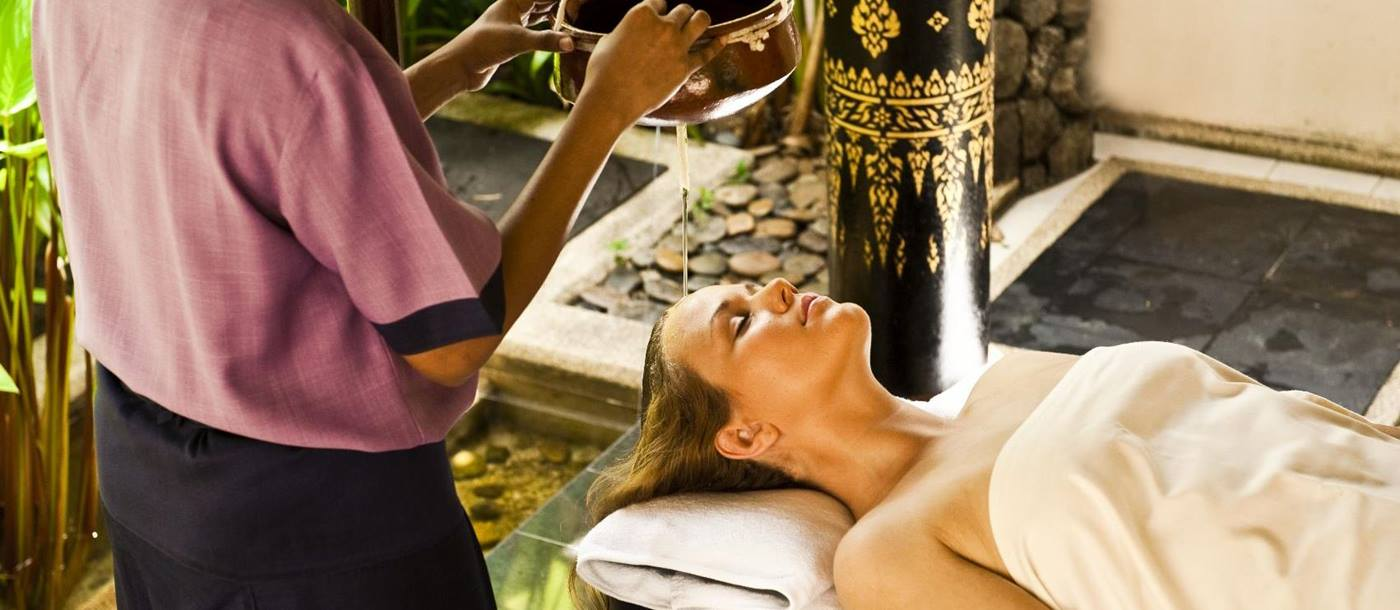 spa treatment at banyan tree phuket, thailand