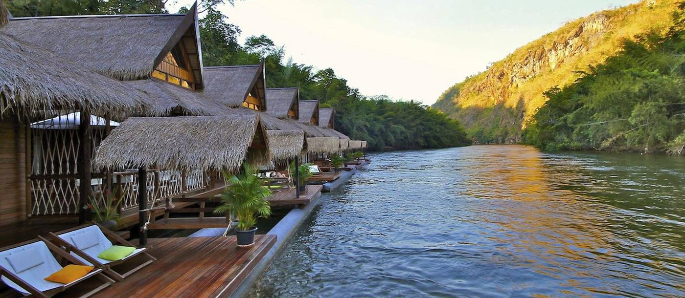 floathouse river kwai, thailand