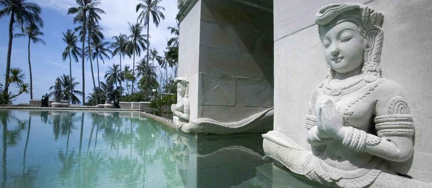 lap pool of kamalaya, thailand