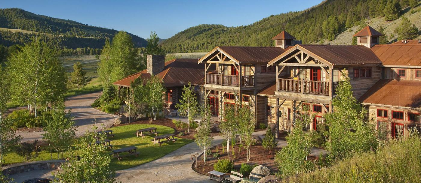 The exterior of Ranch at Rock Creek, USA