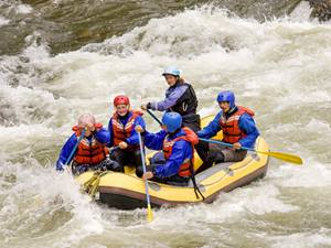 White water rafting, USA