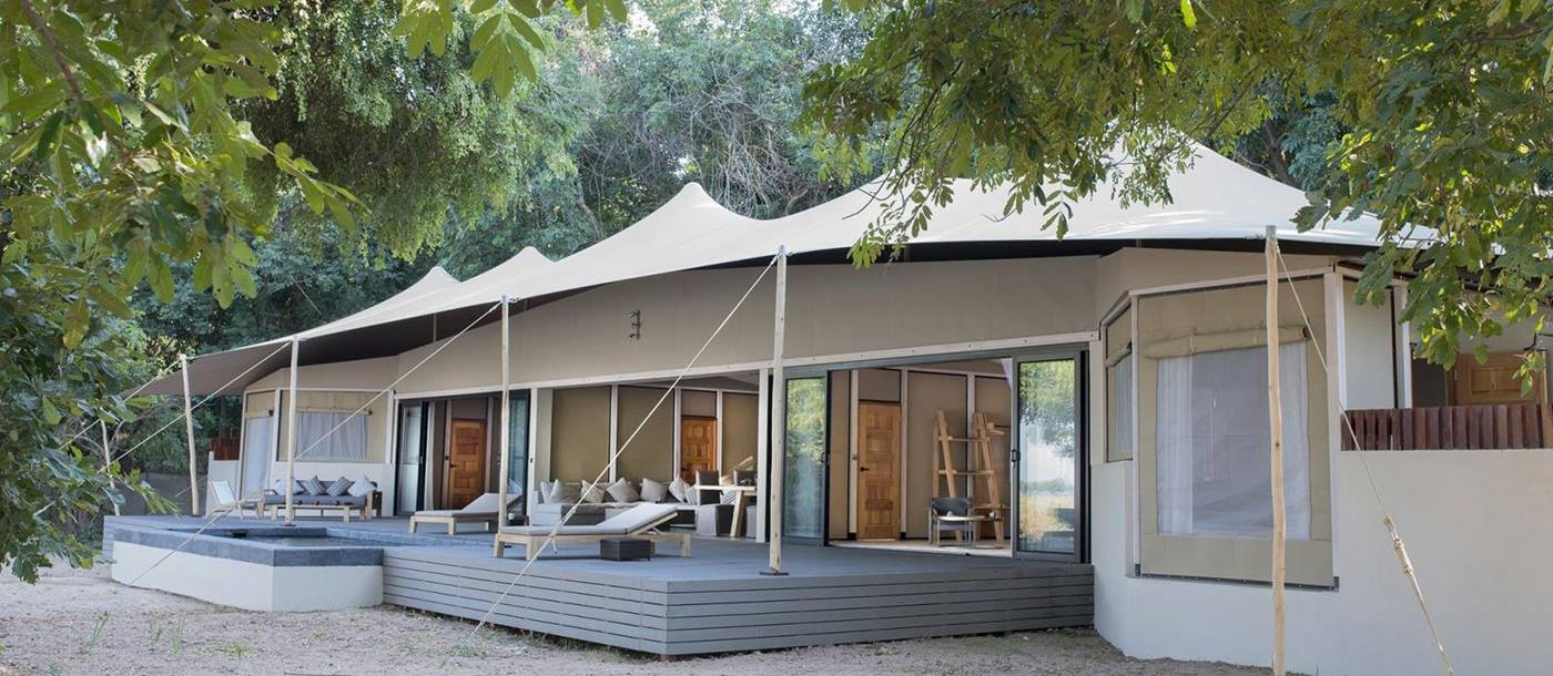 Kigelia House at Sausage Tree Camp in Zambia