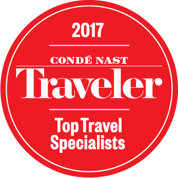 2017 Conde Nast Traveler Top Travel Specialists Award