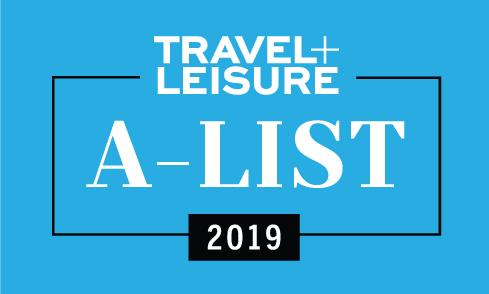 Travel + Leisure A-List 2019