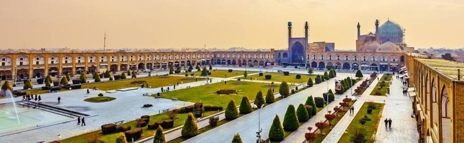 imam square in iran in the middle east