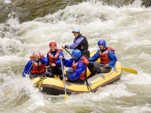 Adventure holidays - white water rafting