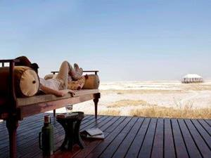 Glorious Isolation - San Camp - Botswana