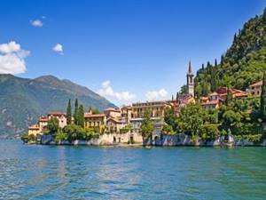 Italian Lakes villas - view of Tremezzo