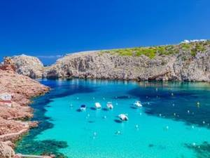 Menorca luxury villas - view of the sea and landscape