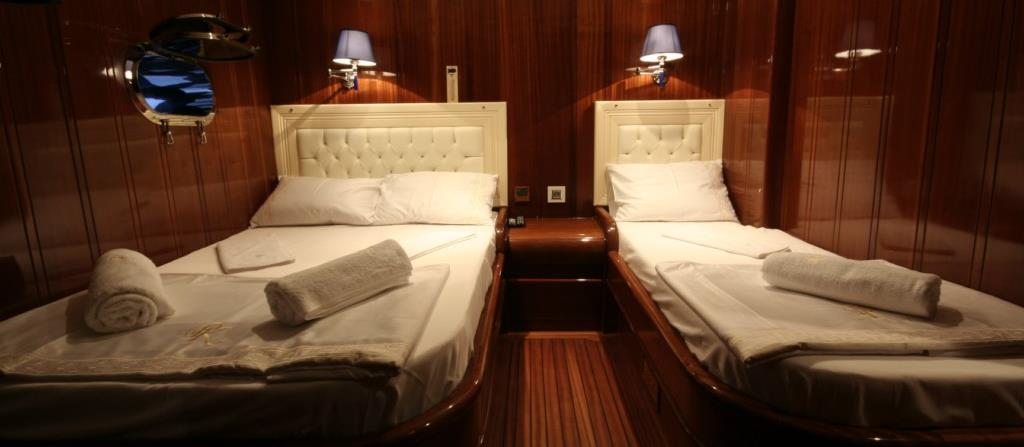 Cabin on Princess Karia