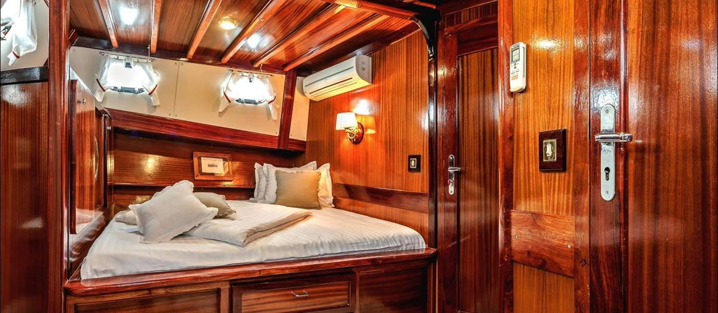 A cabin on board Sedna